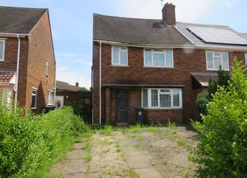 Thumbnail 3 bed semi-detached house for sale in Wavell Road, Walsall