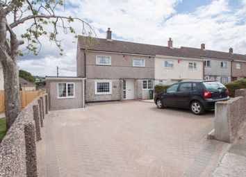 Thumbnail 2 bed end terrace house for sale in Ernesettle Green, Plymouth