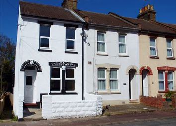 Thumbnail 3 bed end terrace house for sale in Neville Road, Chatham, Kent.