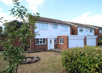Thumbnail 4 bed detached house to rent in Bolton Gardens, Bromley