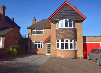 Thumbnail 4 bed detached house for sale in Loughborough Road, Birstall, Leicester