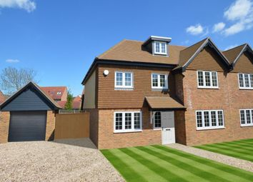 Thumbnail 5 bed semi-detached house for sale in Peacock Cottages, Wokingham
