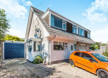 Thumbnail 3 bed semi-detached house for sale in Combe Close, Axminster