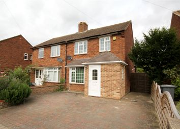 Thumbnail 3 bedroom semi-detached house for sale in Fairway, Chertsey, Surrey