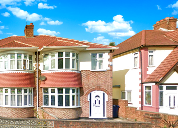 Thumbnail 3 bed semi-detached house to rent in Greenford Road, Greenford, London