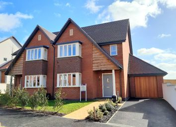 Thumbnail 4 bed semi-detached house for sale in Buckingham Close, Exmouth