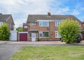 Thumbnail 4 bedroom semi-detached house for sale in Fairstone Hill, Oadby, Leicester