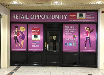 Thumbnail Retail premises to let in 1000 - 5000 Sq/Ft Retail Units, Concourse Shopping Centre, Skelmersdale