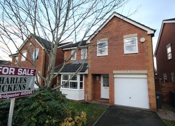 Thumbnail 4 bed detached house for sale in Nicholls Close, Bridgwater