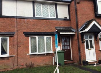 Thumbnail 2 bedroom terraced house to rent in Ingestre Close, Bloxwich, Walsall