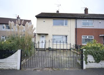 Thumbnail 2 bed semi-detached house for sale in Manor Road, Widnes