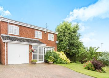 Thumbnail 4 bed detached house for sale in Heythrop Close, Oadby, Leicester