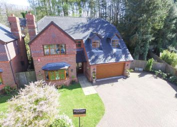 Thumbnail 4 bed detached house for sale in West Drive, Cheddleton, Leek