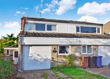 Thumbnail 3 bedroom semi-detached house for sale in Amderley Drive, Norwich