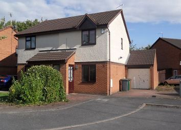 Thumbnail 2 bed semi-detached house to rent in Tregony Way, Stenson Fields, Derby