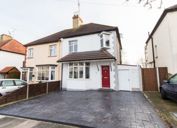 Thumbnail 3 bed semi-detached house for sale in Edinburgh Avenue, Leigh-On-Sea
