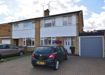 Thumbnail 3 bed semi-detached house for sale in Longshots Close, Chelmsford