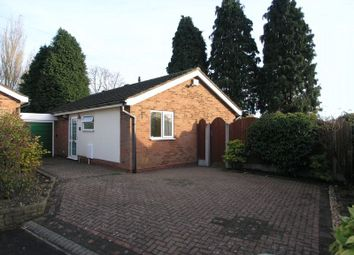 Thumbnail 2 bed bungalow for sale in Chantry Drive, Halesowen