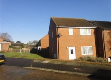 Thumbnail 1 bed end terrace house to rent in Shipman Avenue, Canterbury