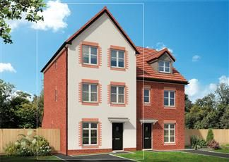Thumbnail 4 bed semi-detached house for sale in Swanlow Lane, Winsford