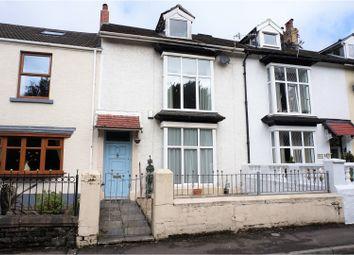 Thumbnail 4 bedroom terraced house for sale in De La Beche Road, Sketty
