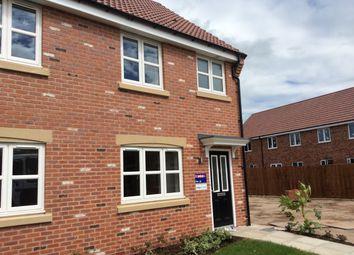 Thumbnail 2 bed town house to rent in Pinter Lane, Gainsborough