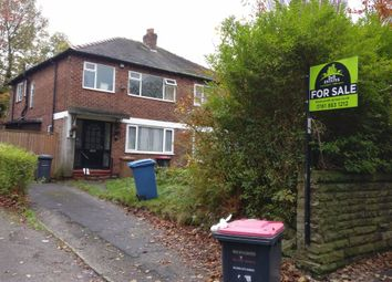 Thumbnail 3 bedroom semi-detached house for sale in Singleton Road, Salford