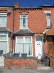 Thumbnail 3 bed terraced house to rent in Avondale Road, Sparkhill