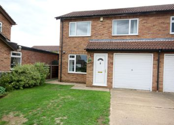 Thumbnail 3 bedroom semi-detached house for sale in Southfields, Sleaford, Lincolnshire