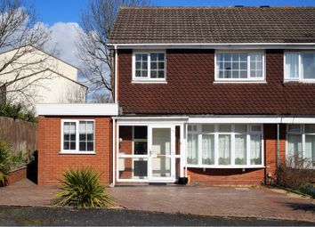 Thumbnail 3 bed semi-detached house for sale in Field Close, Malinslee Telford