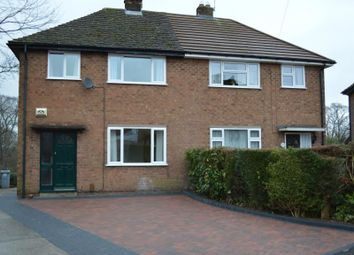 Thumbnail 3 bed semi-detached house to rent in Holly Bank Road, Wilmslow