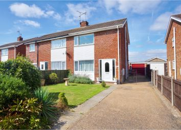 Thumbnail 3 bed semi-detached house for sale in Larne Road, Lincoln