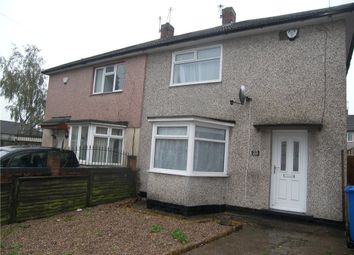 Thumbnail 2 bed semi-detached house to rent in Radstock Gardens, Breadsall, Derby