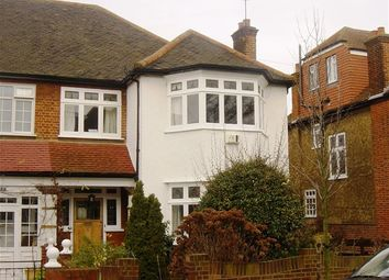 Thumbnail 3 bed semi-detached house to rent in Brantwood Road, Herne Hill, London