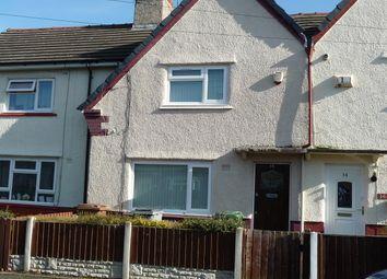 Thumbnail 2 bed terraced house to rent in Clarke Avenue, Birkenhead