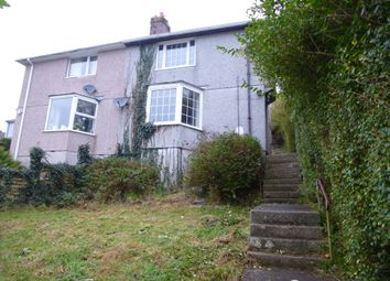 Thumbnail 2 bed semi-detached house for sale in Wycliffe Road, Laira, Plymouth