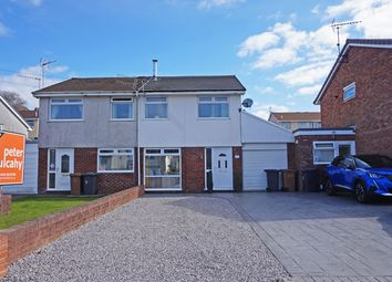 Thumbnail 3 bed semi-detached house for sale in Clos Carolyn, Blackwood