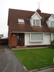 Thumbnail 3 bedroom semi-detached house to rent in Winchester Avenue, Carryduff, Belfast