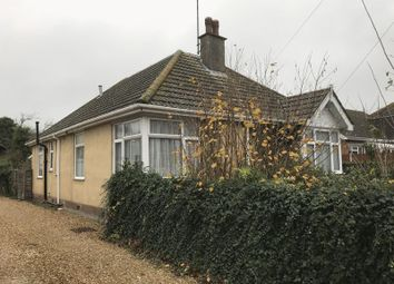 Thumbnail 3 bed detached bungalow for sale in Beech Road, Weymouth