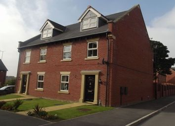 Thumbnail 3 bed town house to rent in Bridgewater Way, Ravenfield, Rotherham