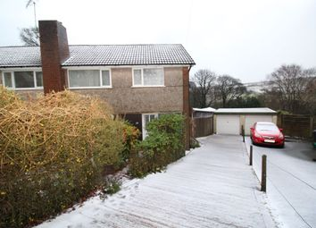 Thumbnail 3 bed semi-detached house for sale in Brockwell Gardens, Sowerby Bridge
