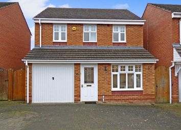 Thumbnail 3 bed detached house for sale in Haymaker Way, Cannock, Staffordshire