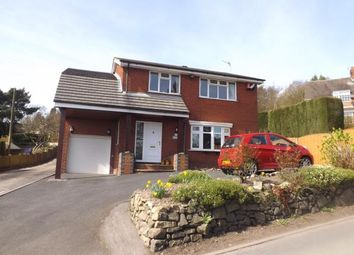 Thumbnail 4 bed detached house for sale in Mow Cop Road, Mow Cop, Stafforshire, Cheshire Border