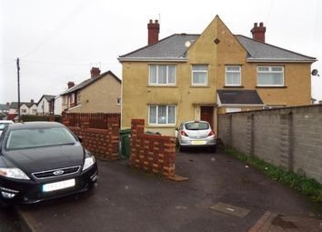 Thumbnail 4 bed semi-detached house for sale in Whitmuir Road, Cardiff, Caerdydd, Wales