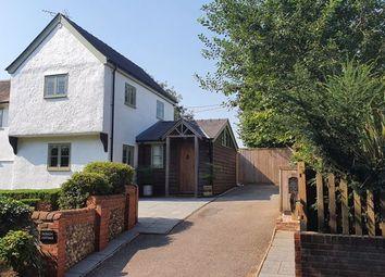 3 bed semi-detached house for sale in Sampford Road, Radwinter, Saffron Walden CB10