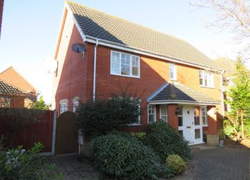 Thumbnail 4 bed detached house for sale in Bentley Drive, Lowestoft