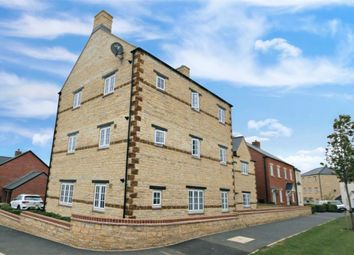 Thumbnail 2 bed flat for sale in Sorrel Crescent, Wootton, Northampton