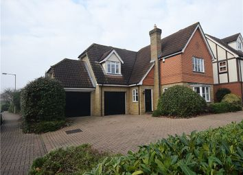 Thumbnail 4 bedroom detached house for sale in Drovers Way, Bishop's Stortford
