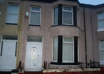 Thumbnail 3 bedroom terraced house to rent in Spencer Street, Bootle, Liverpool
