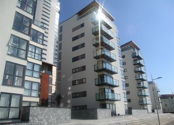 Thumbnail 2 bedroom flat to rent in Meridian Bay, Maritime Quarter, Swansea